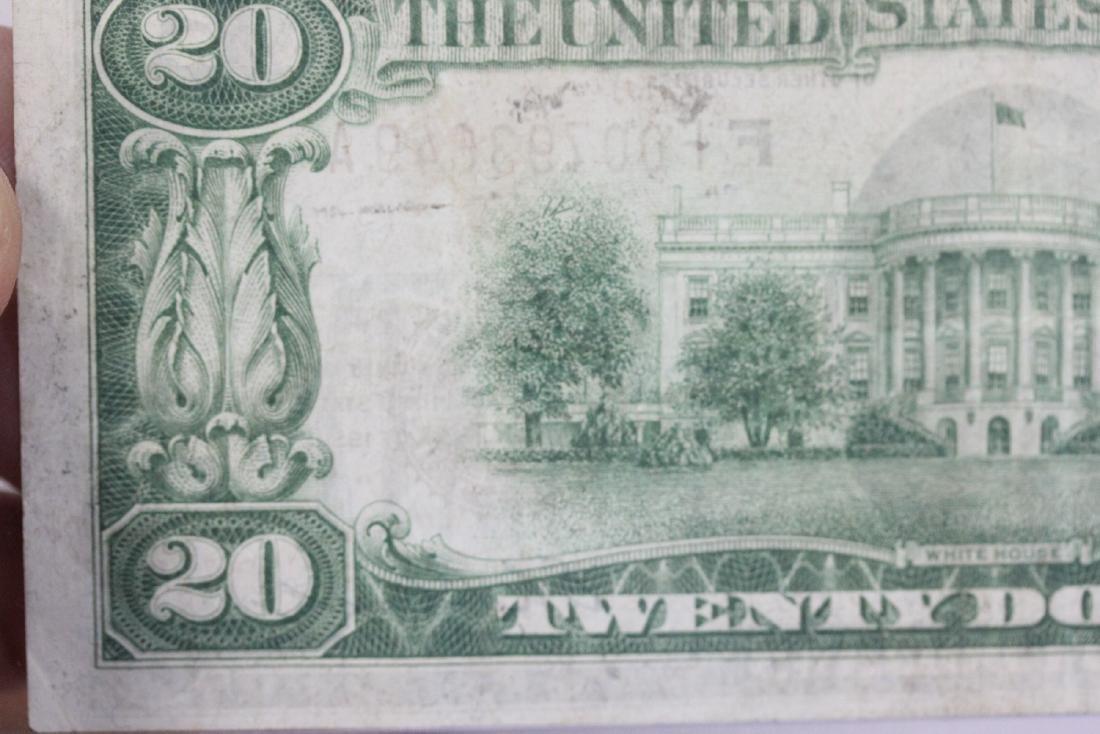 A $20.00 Atlanta, Georgia Federal Reserve Bank Note - - 6