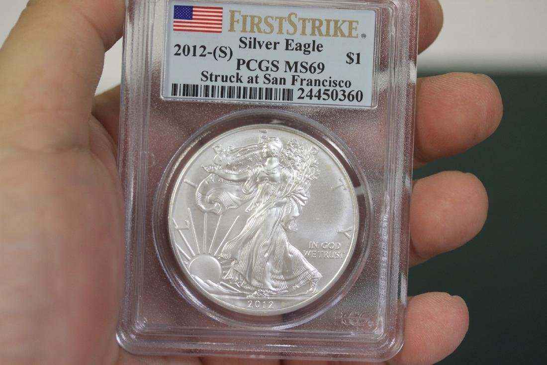 A Graded First Strike Eagle 2012-S