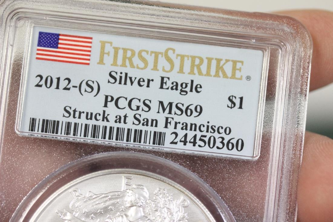 A Graded First Strike Eagle 2012-S - 4