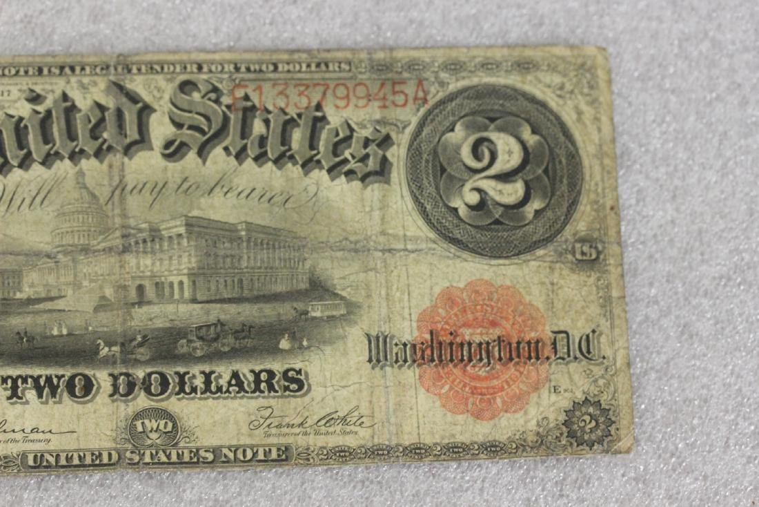 A 1917 Two Dollar Note - 5
