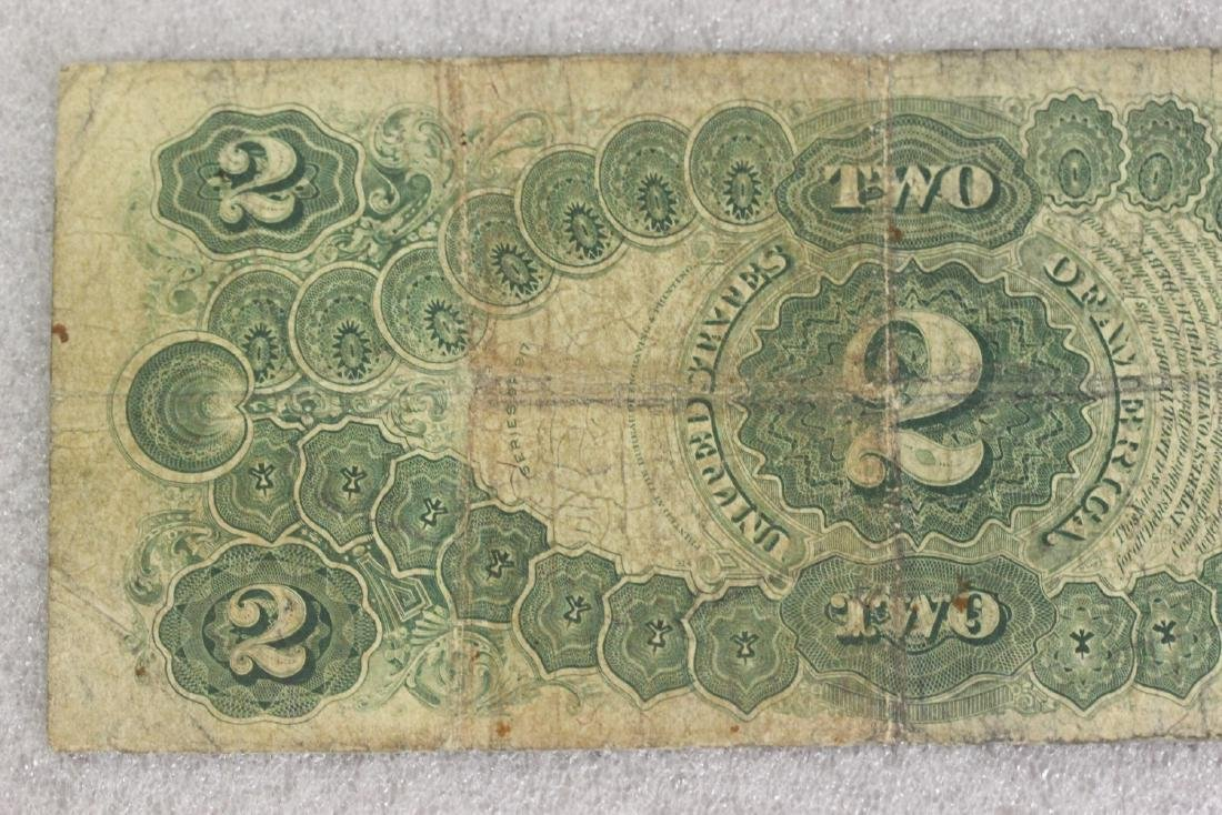 A 1917 Two Dollar Note - 8