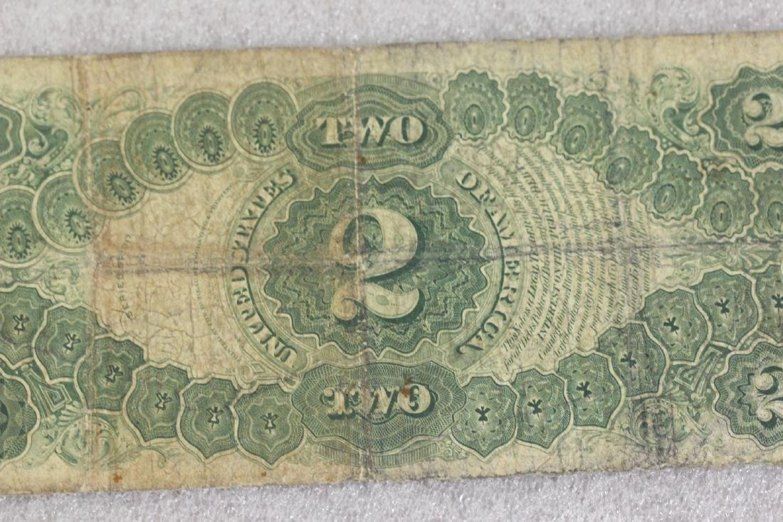A 1917 Two Dollar Note - 9