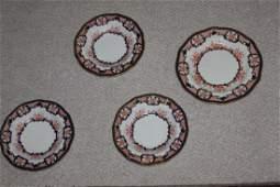 Antique Royal Crown Derby Plate / Bowls