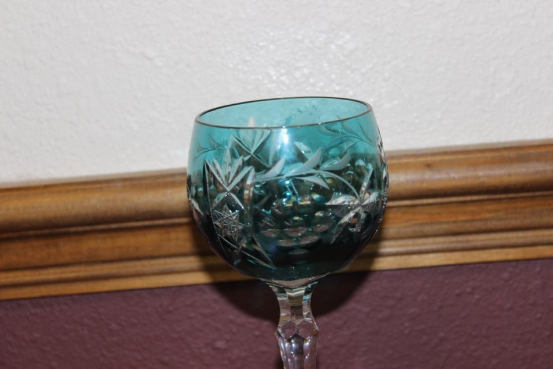A Cut Glass Goblet
