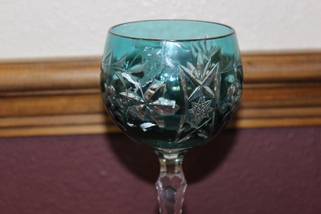 A Cut Glass Goblet - 2