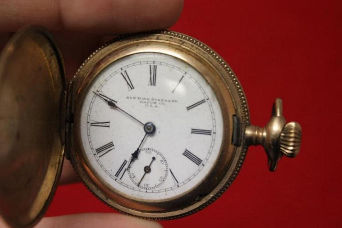 A New York Standard Watch Company Pocket Watch - 2