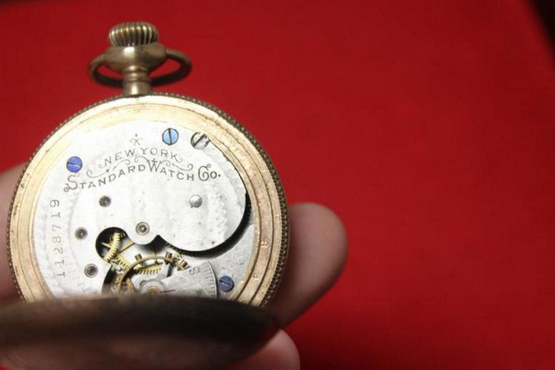 A New York Standard Watch Company Pocket Watch - 3