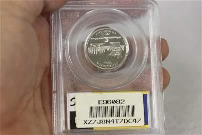 A Graded 2005 S Silver Quarter