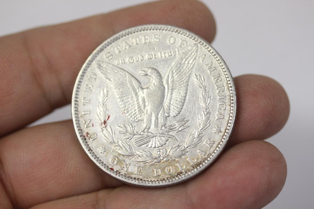 An 1883 Morgan Silver Dollar