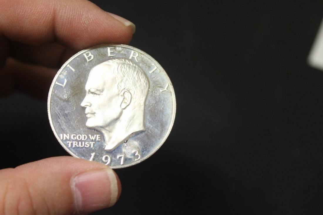A 1973-S Roosevelt Silver Dollar - 3