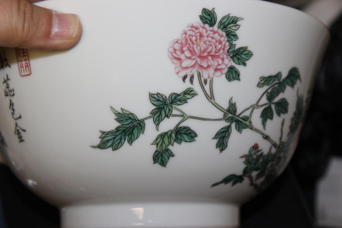 A Lenox Bowl with Oriental Motief - 5