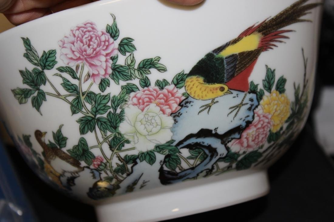 A Lenox Bowl with Oriental Motief - 8