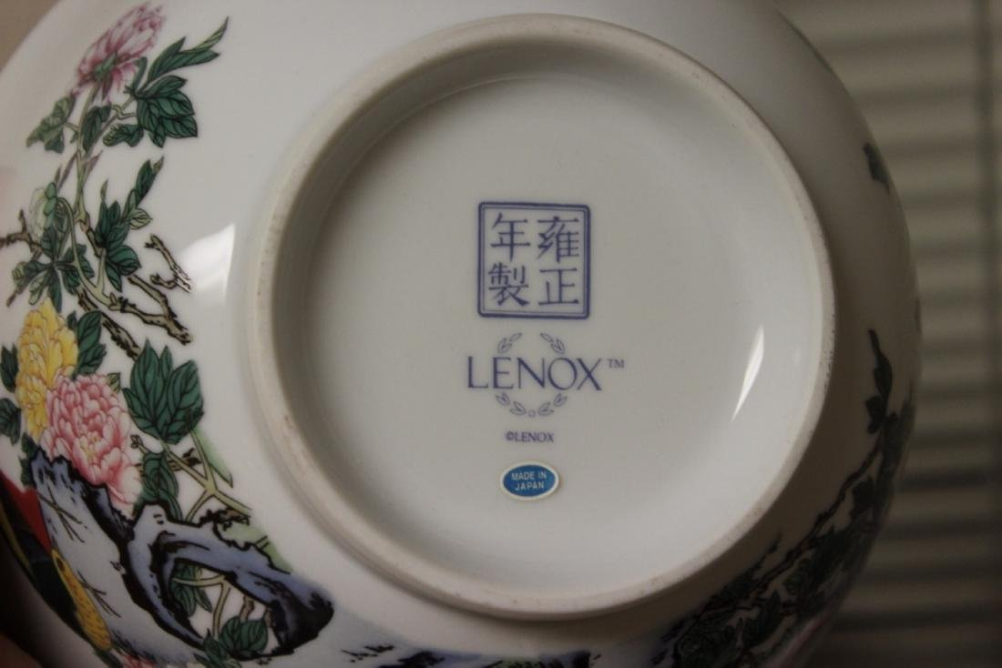 A Lenox Bowl with Oriental Motief - 9
