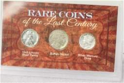 Rare Coins of the Last Century Set