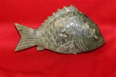 A Jade Fish
