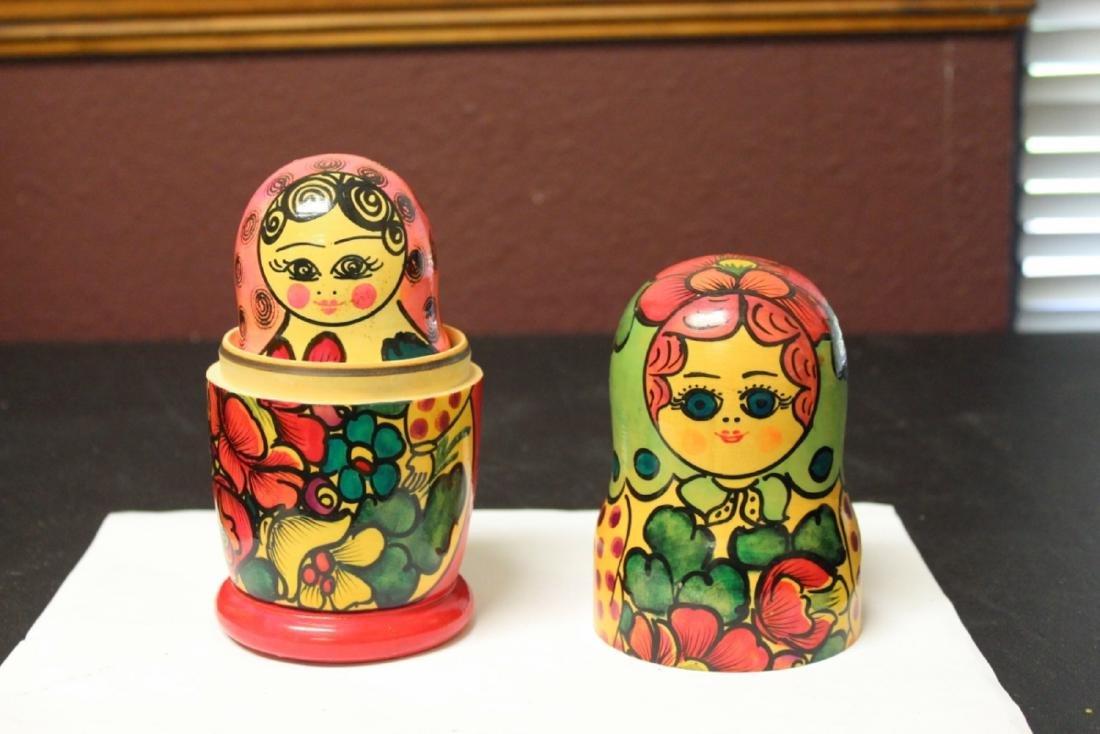 A Russian Matooshka Stacking Doll - 3