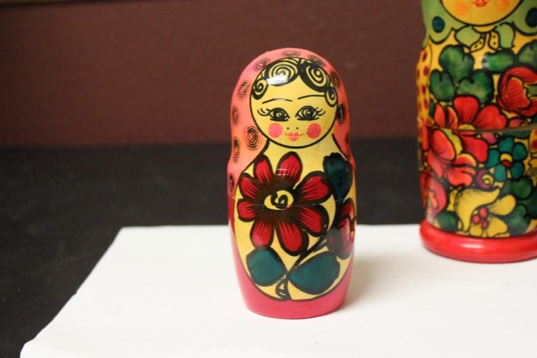 A Russian Matooshka Stacking Doll - 4