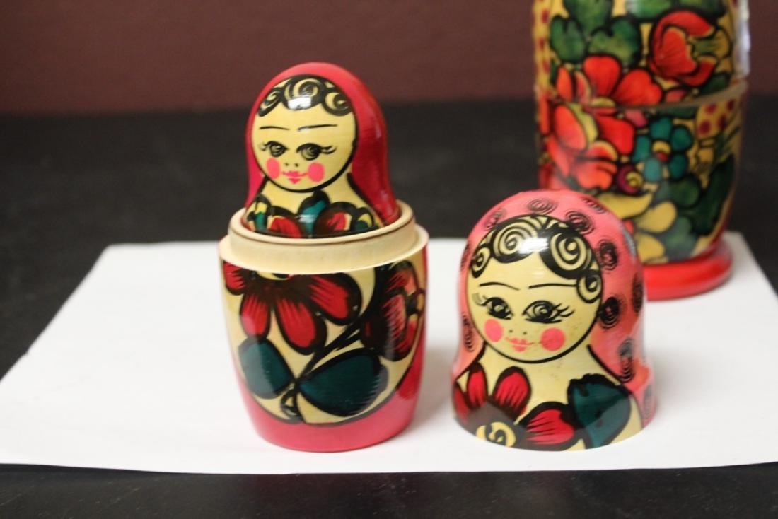A Russian Matooshka Stacking Doll - 8