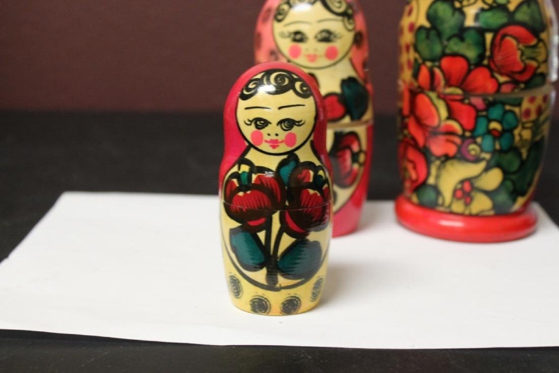 A Russian Matooshka Stacking Doll - 9
