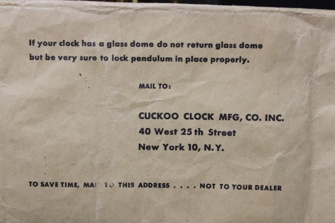 Kundo Germany 400 Days Clock with Key - 9
