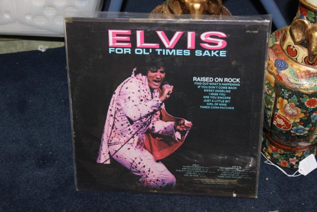 An Elvis Album or Record or LP