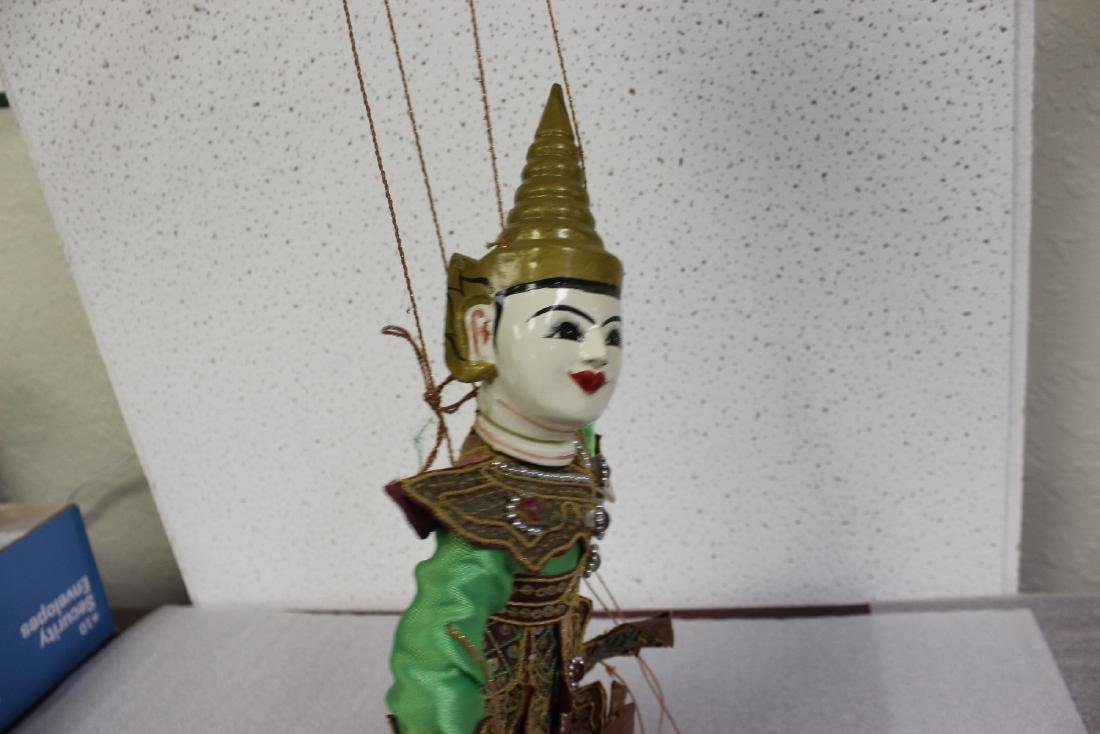 A Wooden Marionette