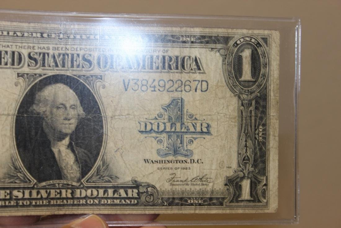 A 1923 Large $1.00 Bill - Horse Blanket - 3