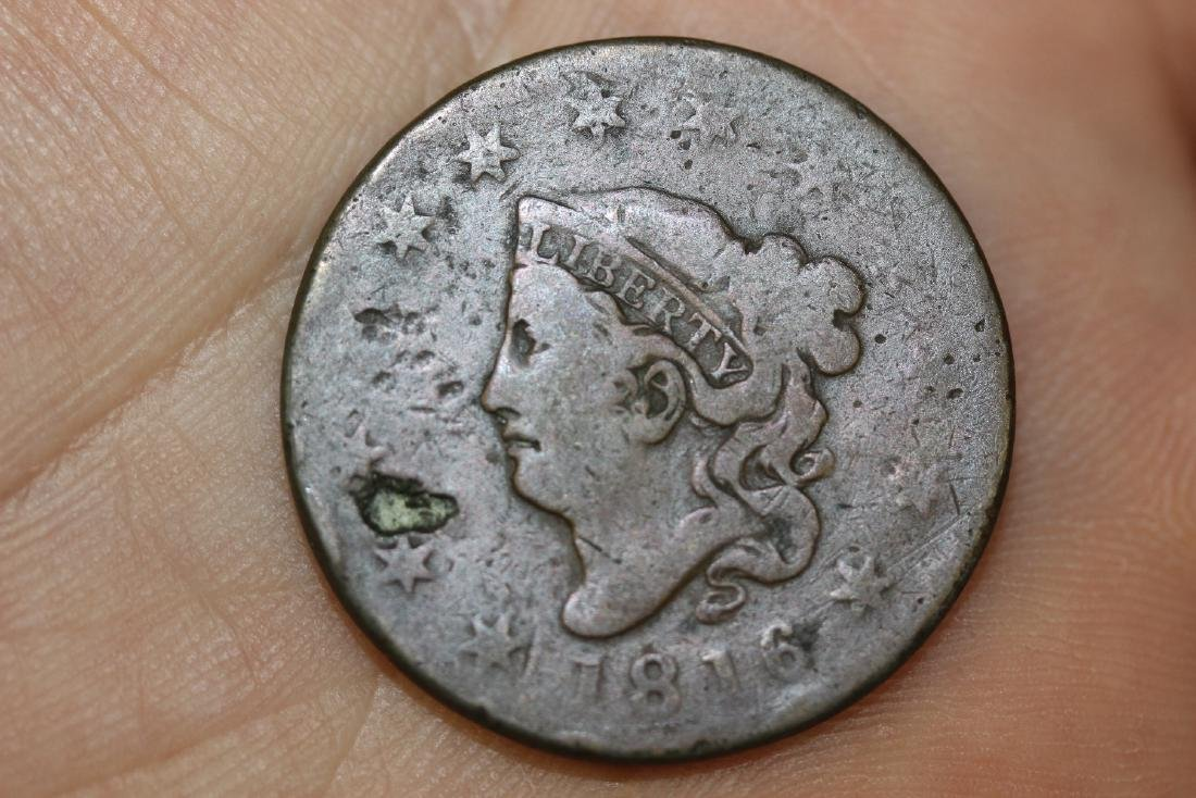 An 1816 Large Cent