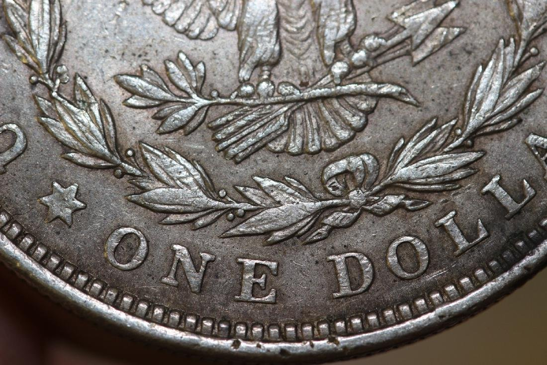 A 1921 Morgan Silver Dollar - 7