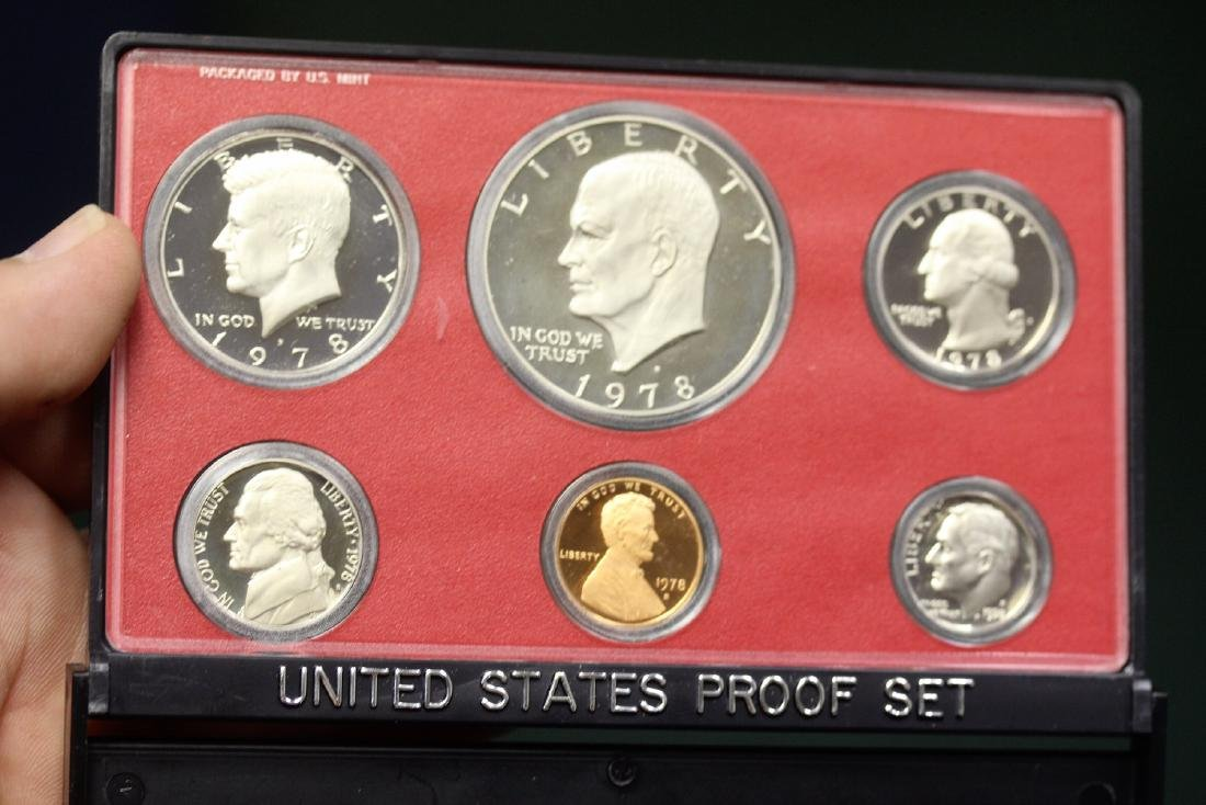 A 1978 US Mint Set - 2