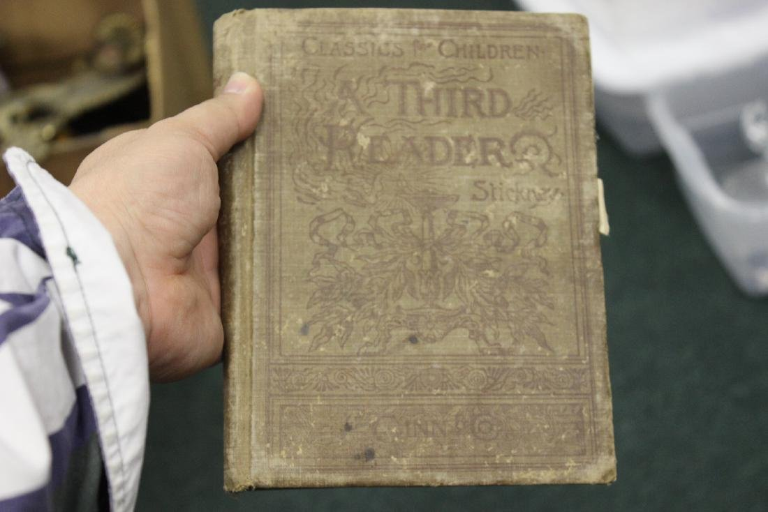A Third Reader - 1894 Children's Book