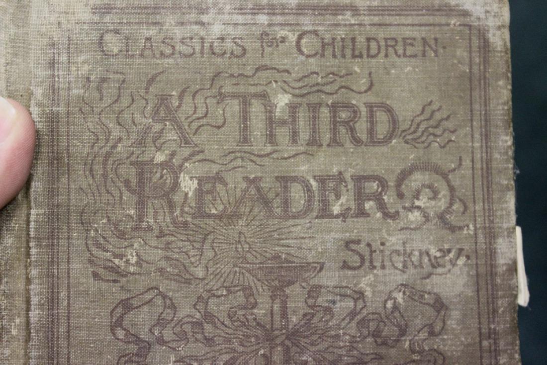 A Third Reader - 1894 Children's Book - 2