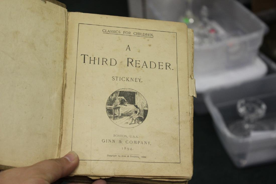 A Third Reader - 1894 Children's Book - 4