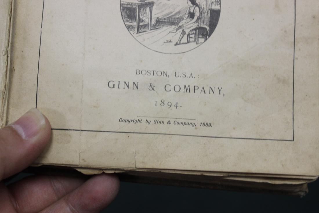 A Third Reader - 1894 Children's Book - 5