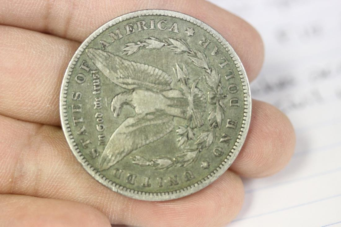 An 1887-O Morgan Silver Dollar - 2