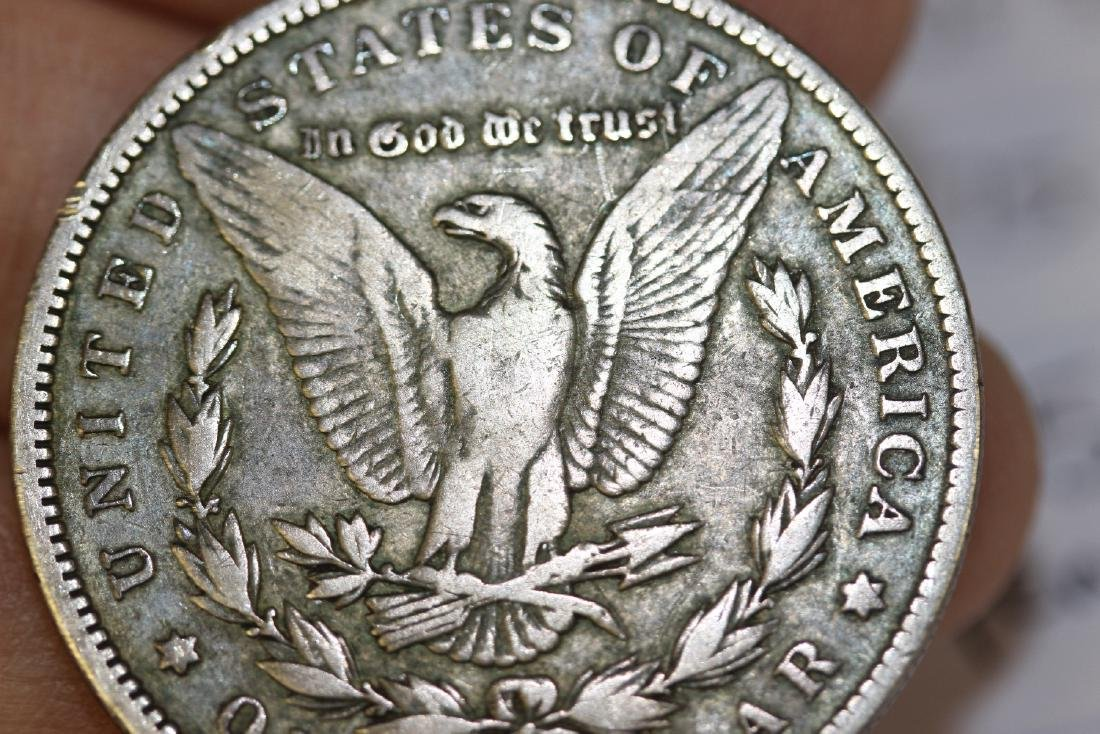 An 1887-O Morgan Silver Dollar - 4