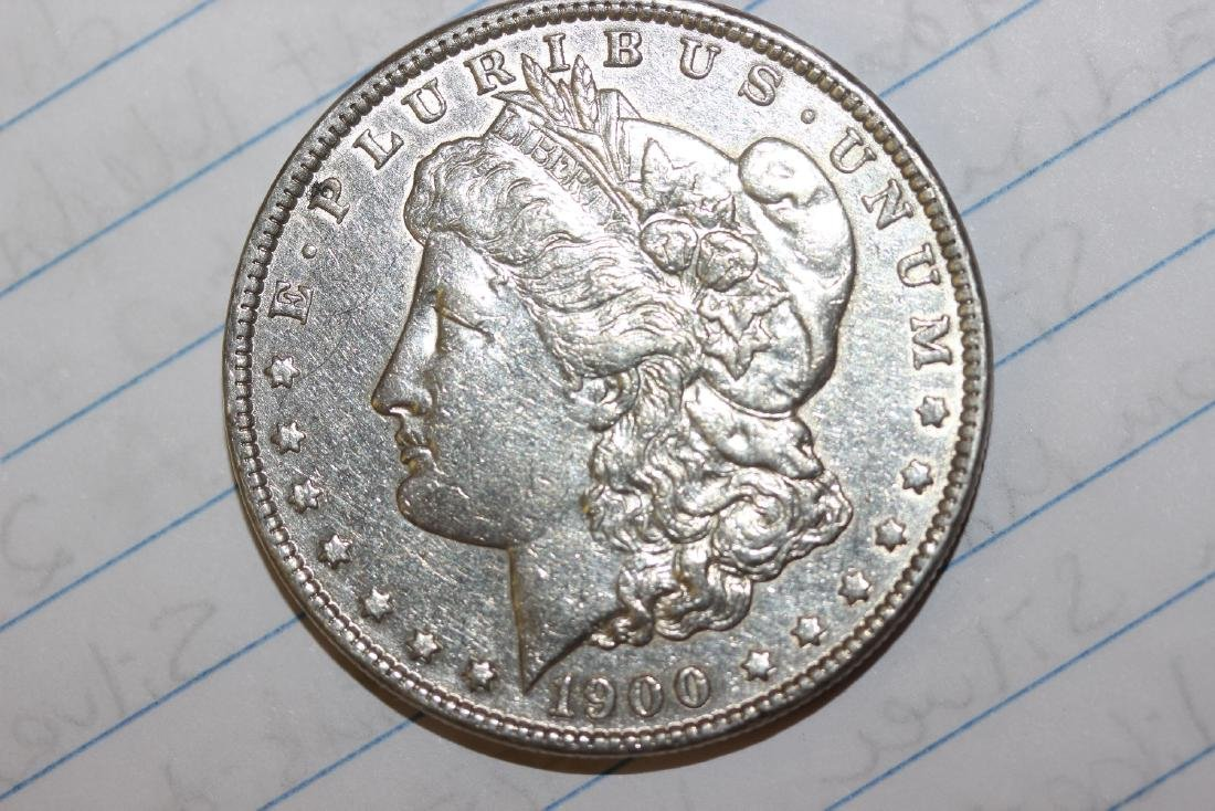 A 1900-O Morgan Silver Dollar