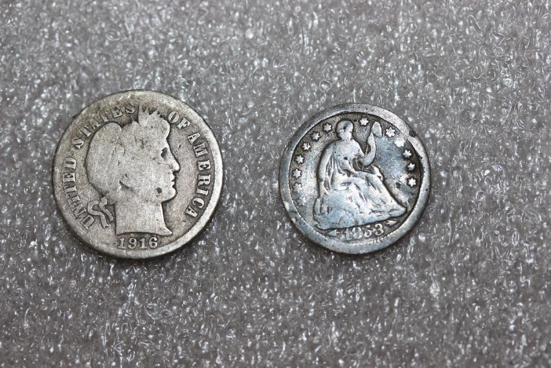 Lot of Two Dimes