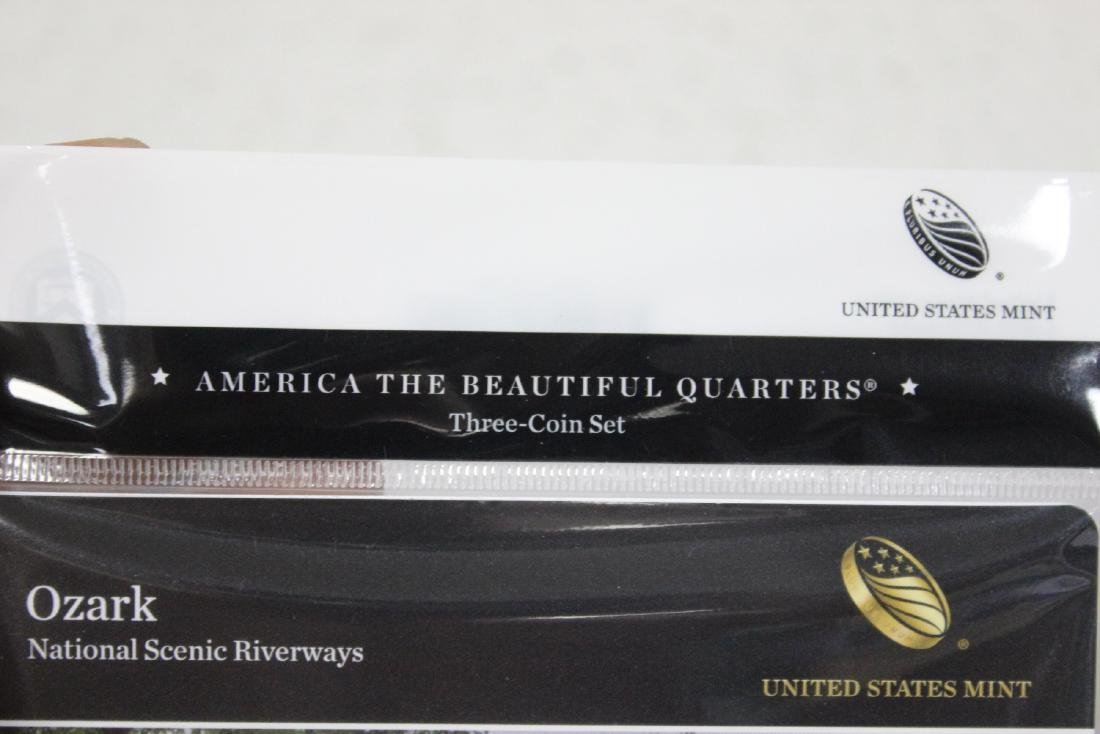 America, The Beautiful Coin Set - 6