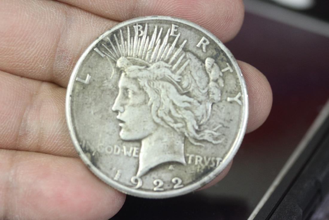 A 1922-S Peace Dollar