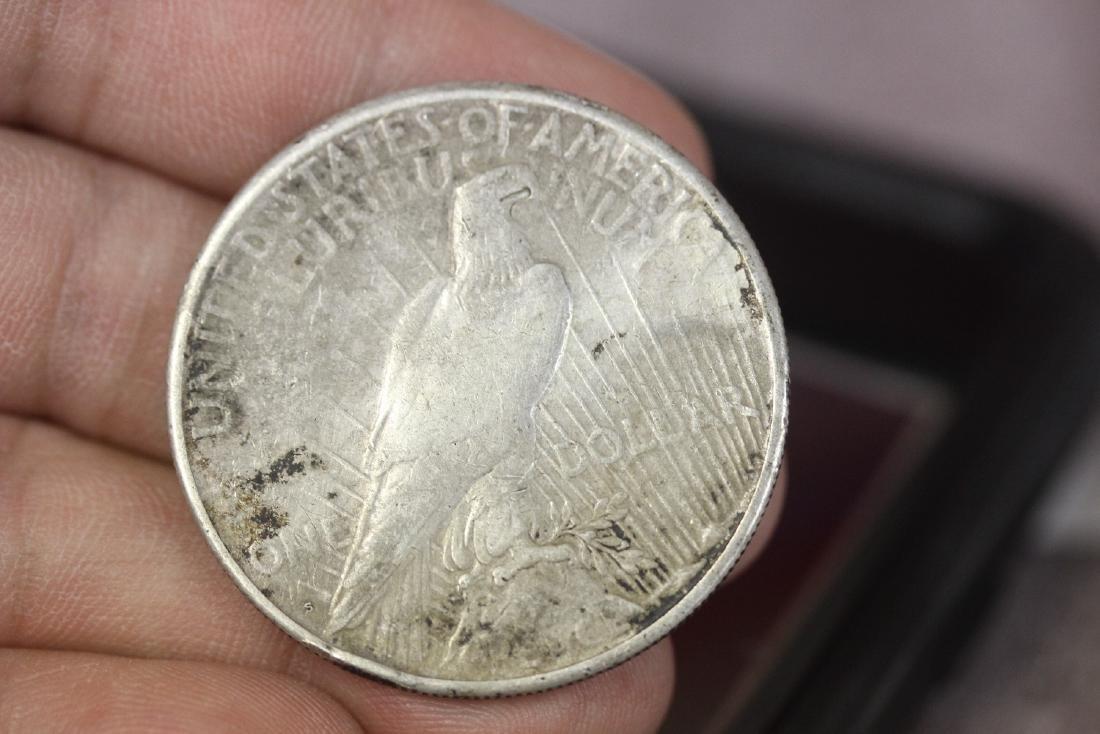 A 1922-S Peace Dollar - 2