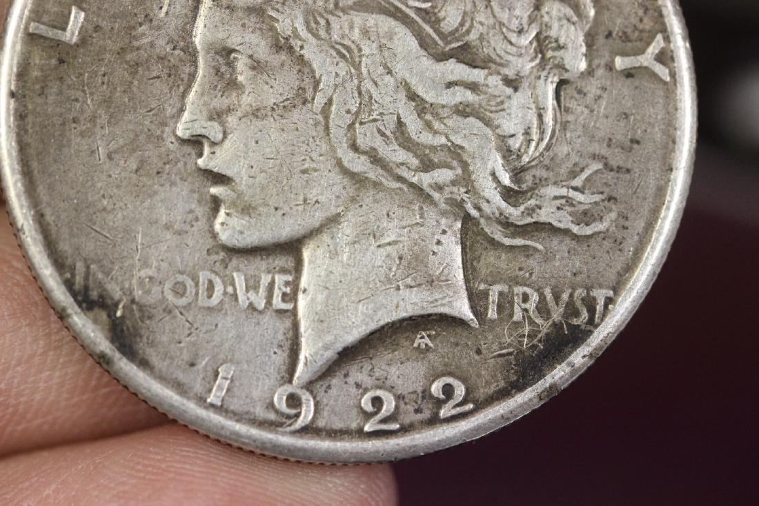 A 1922-S Peace Dollar - 4