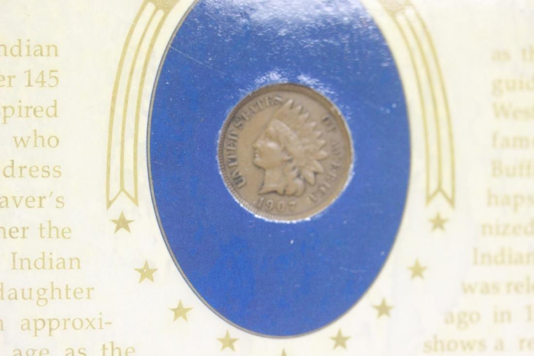 Indian Head Coin Set - 4