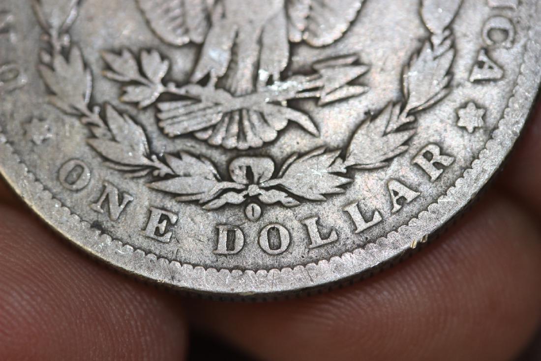 An 1888-O Morgan Silver Dollar - 3