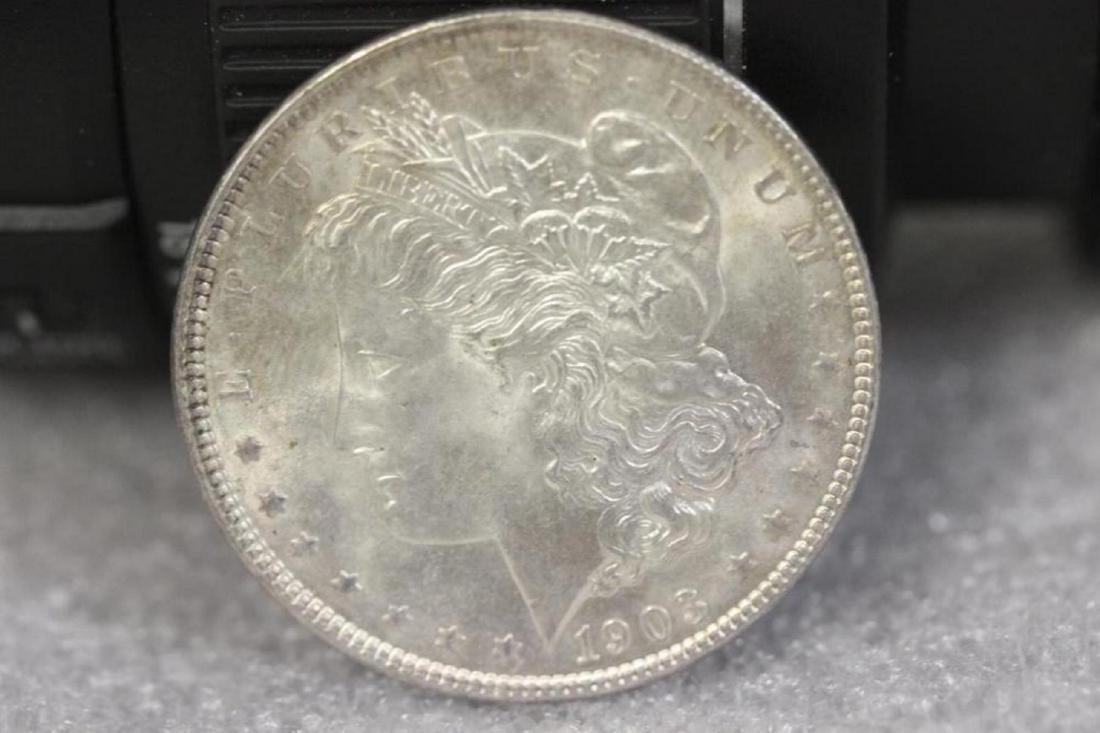 A 1903 Morgan Silver Dollar