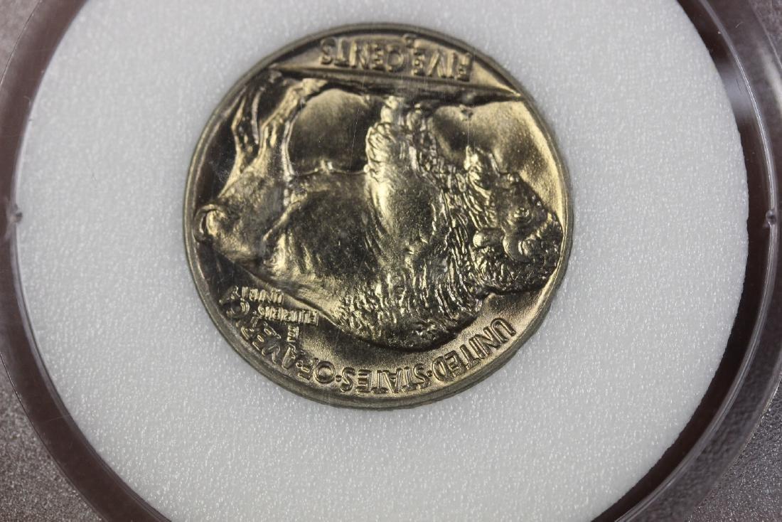 A Graded 1938 Buffalo Nickle - 5