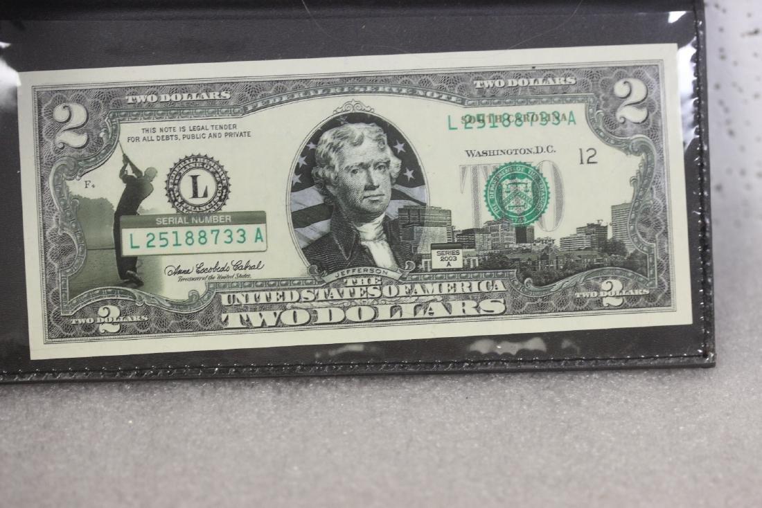 An Uncirculated Two Dollar Bill