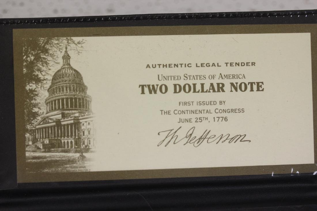 An Uncirculated Two Dollar Bill - 2
