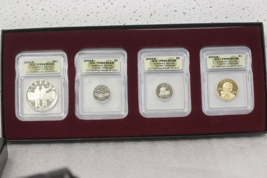A Four Coin Set from Louis and Clark
