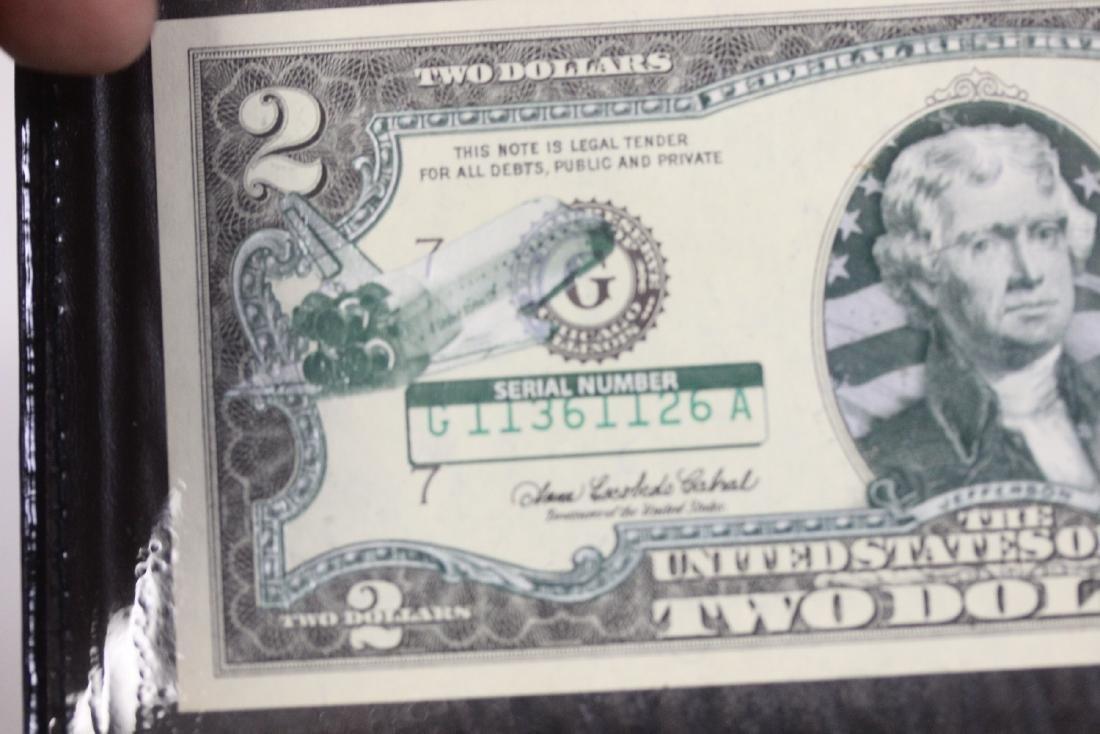 An Uncirculated Two Dollar Bill - 5